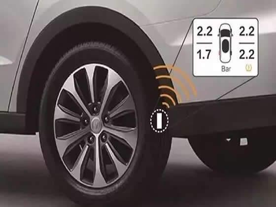 新车将强迫装置胎压监测~来岁实验~