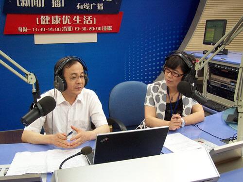 市二院眼科中心主任陆炯走进直播室(2013-06-03)