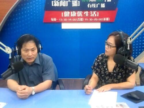 市一院李永辉与大家一起关注白血病(2014-06-16)