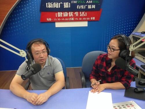 市一院骨科副主任、副主任医师彭育沁谈关节炎的防治(2015-10-12)