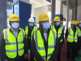 苏州市领导调研皇家经开区企业复工情况